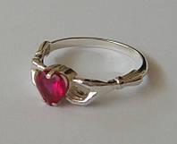 Кольцо КЦ0280МД, серебро 925 проба, кубический цирконий.