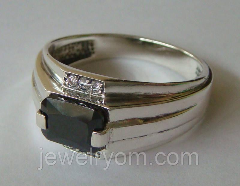 Кольцо КМ825МД, серебро 925 проба, кубический цирконий.