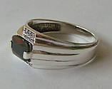 Кольцо КМ825МД, серебро 925 проба, кубический цирконий., фото 2