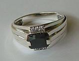 Кольцо КМ825МД, серебро 925 проба, кубический цирконий., фото 3