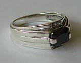 Кольцо КМ825МД, серебро 925 проба, кубический цирконий., фото 4