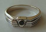 Кольцо КМ845MД, серебро 925 проба, кубический цирконий., фото 2