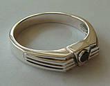 Кольцо КМ845MД, серебро 925 проба, кубический цирконий., фото 3