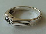 Кольцо КМ845MД, серебро 925 проба, кубический цирконий., фото 4