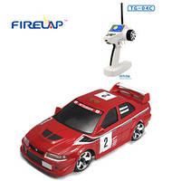 Автомодель на радиоуправленииу 1:28 Firelap IW04M Mitsubishi EVO 4WD (красный), FLP-405G4r *х