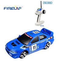Автомодель на радиоуправлении 1:28 Firelap IW04M Mitsubishi EVO 4WD (синий), FLP-405G4a *х