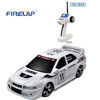 Автомодель на радиоуправлении 1:28 Firelap IW04M Mitsubishi EVO 4WD (белый), FLP-405G4w *х