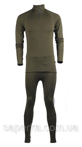 Термобелье мужское универсальное Cold Gear Polartec Olive, фото 2