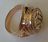 Кольцо КМ0494MД, золото 585 проба, кубический цирконий., фото 5