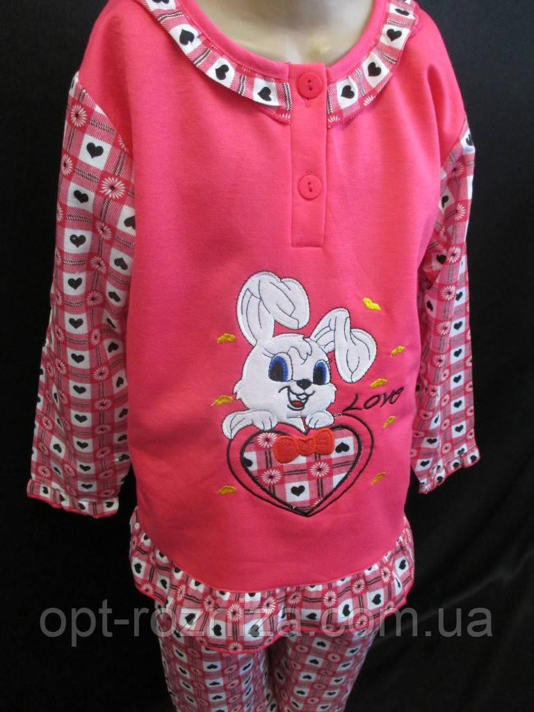 Байковые пижамы для девочек недорого.