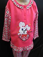 Байковые пижамы для девочек недорого., фото 1