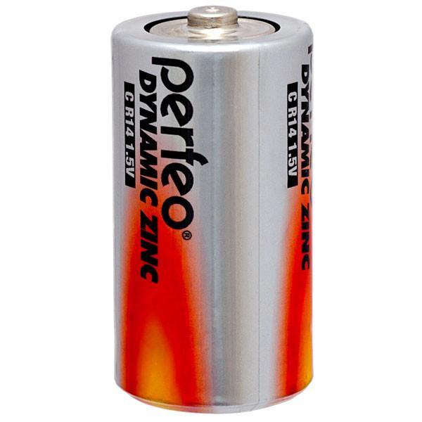 Perfeo батарейка R14 C 1,5V, Dynamic zinc, Shrink/2