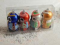 Новогодняя игрушка сова набор, фото 1