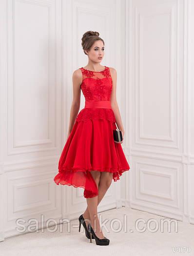 Вечернее, выпускное платье V-070