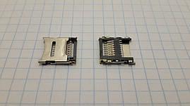 Разъем для карты памяти Micro SD, c откидной пластиной
