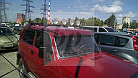 Багажник на крышу поперечины черный глянец Lada Niva (лада нива / ВАЗ 2121/ ВАЗ 2131) 1977+