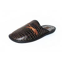 Тапочки мужские Белста оптом 534a темно-коричневые