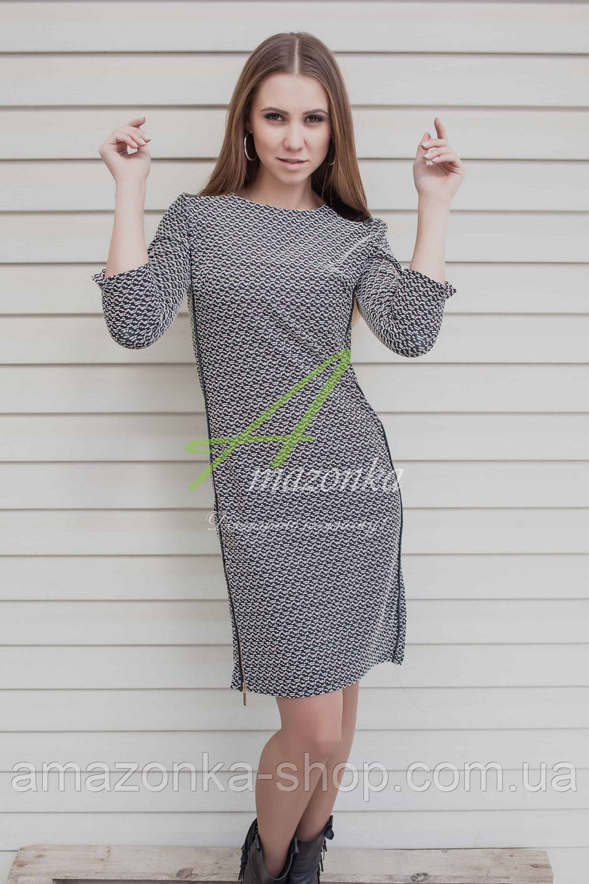Стильное женское платье фото