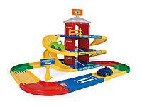 """Игровой набор Паркинг с дорогой """"Kid Cars 3D"""" 3 уровня Вадер, 53040, Wader"""
