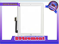Защитное стекло, экран apple ipad 4, A1460  белый, фото 1