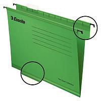 Подвесные папки Esselte Pendflex, зеленый,25 шт. (90318)