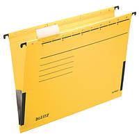 Подвесные папки Leitz Alpha c боковыми ограничителями,  A4 , желтый (19860015)