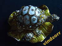 Черепаха-шкатулка миниатюрная 3486 . Металл+эмаль