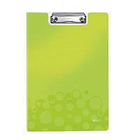 Папка-планшет WOW, зеленый металлик