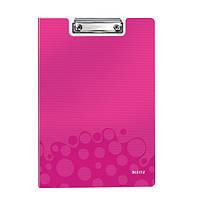 Папка-планшет WOW, розовый металлик