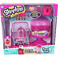 Игровой набор Shopkins S4 Королевское Капкейк-Кафе с аксессуарами + 2 шопкинса 56081