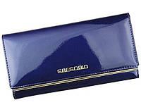 Женский кошелек Gregorio (L100) leather blue