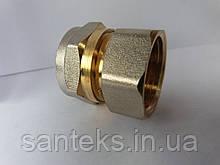Сгон металлопластиковый диаметр 16 х 1/2 внутренняя резьба