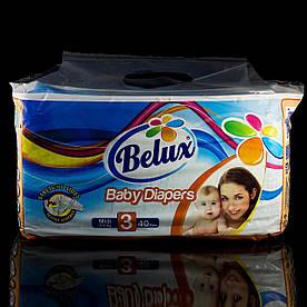 Подгузники Белюкс Belux, 3 midi, 4-9 кг, 40 шт.