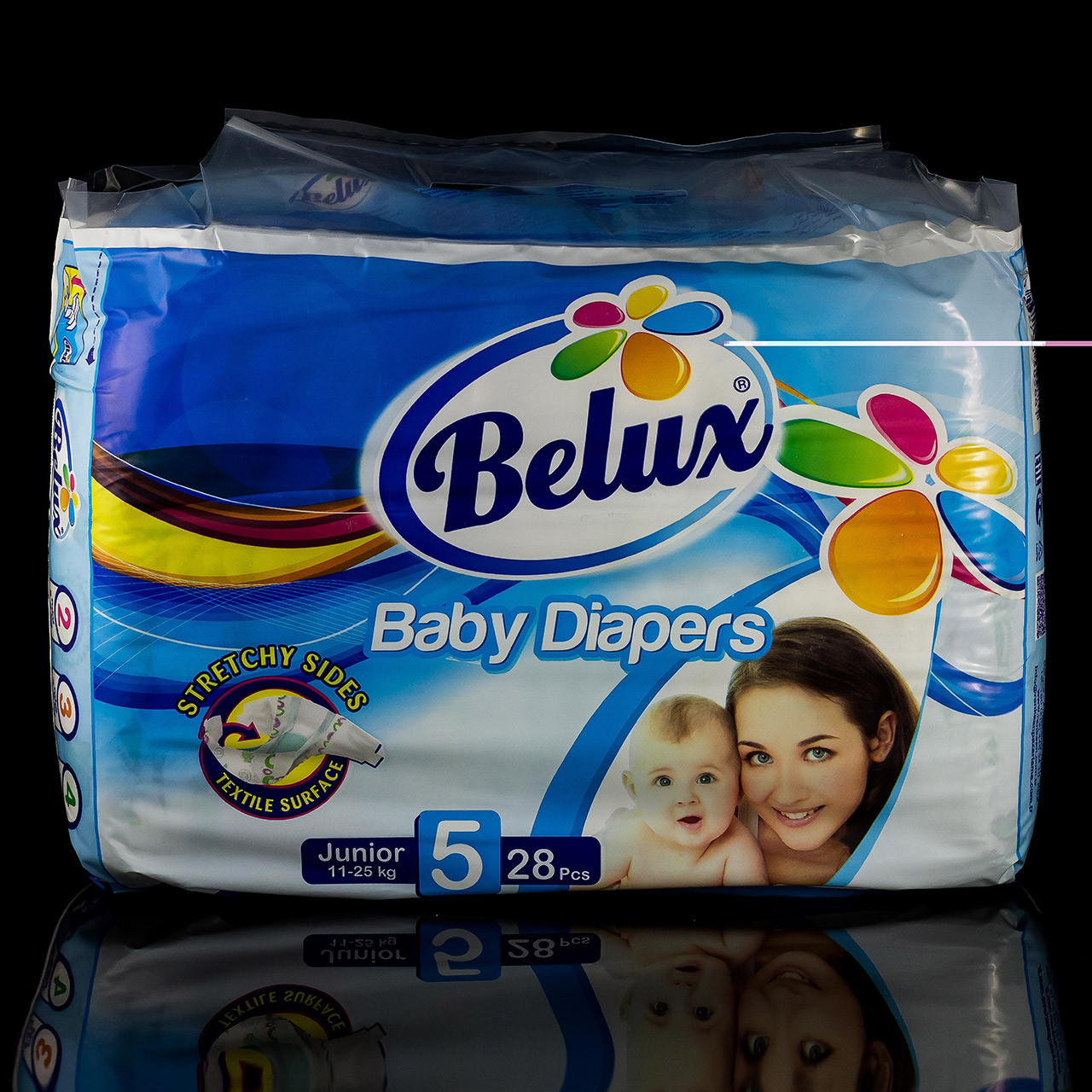 Подгузники Белюкс Belux, 5 junior, 11-25 кг., 28 шт. (98555715)