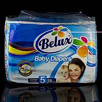 Подгузники Белюкс Belux, 5 junior, 11-25 кг., 28 шт.