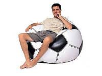 """Надувное кресло-мешок """"Футбольный мяч"""" Intex"""