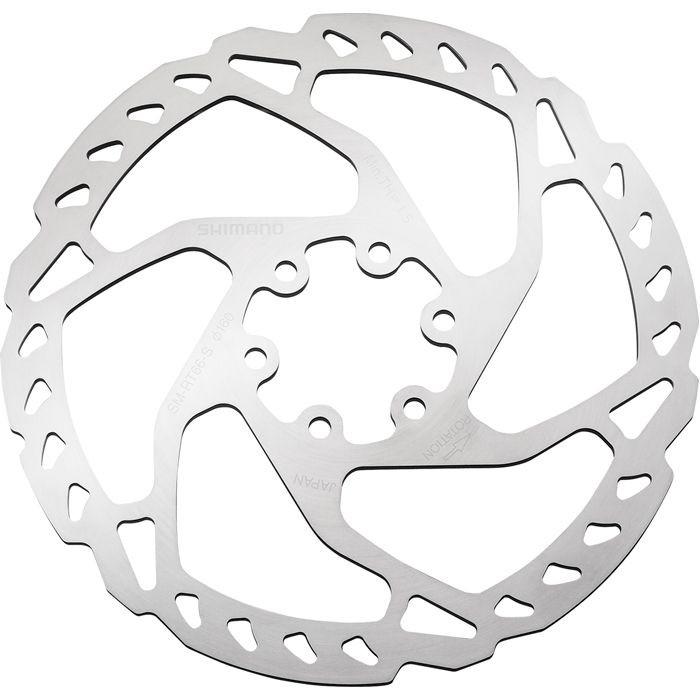 6-болтовый дисковый велосипедный ротор Shimano SLX SM-RT66 160мм, монтаж 6 болтов