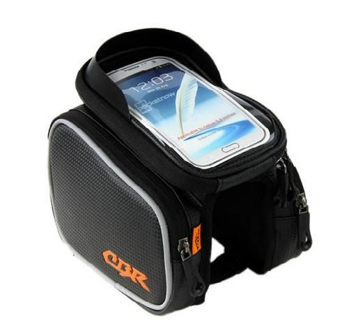 """Нарамная сумка CBR с отделением для смартфона и двумя вместительными боковыми отделениями до 5.2"""" и 6.2"""" рама"""