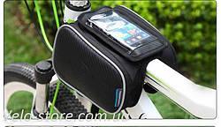 """Нарамная сумка Roswheel с отделением для смартфона и двумя вместительными боковыми отделениями до 5,5"""""""
