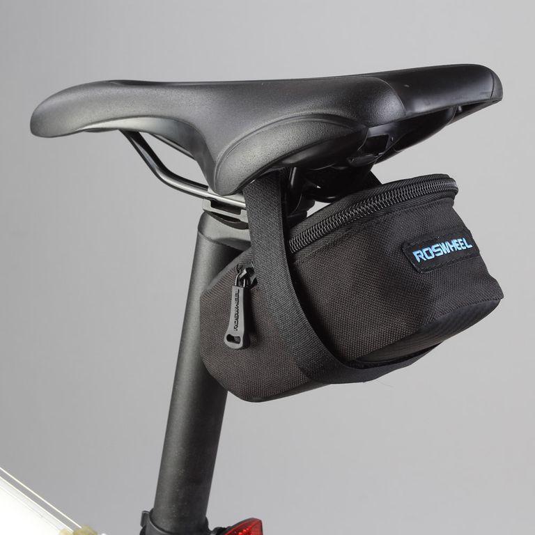 Компактная подседельная сумка Roswheel с жесткой основой для сохранения объема