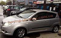 Дефлекторы окон (ветровики) COBRA-Tuning на CHEVROLET AVEO Hatchback 2007-2011