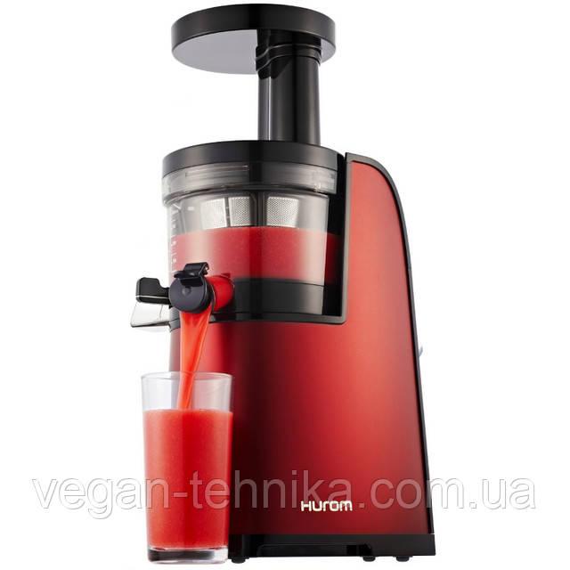 Шнековая соковыжималка Hurom HG 2G Elite Red Wine (стальной корпус)
