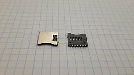 Разъем для карт памяти Micro SD с выталкивателем