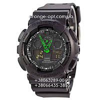 Часы Casio G-Shock GW-A1100 black/green Narrows Класс-AAA
