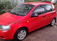 Дефлекторы окон (ветровики) COBRA-Tuning на CHEVROLET AVEO Hatchback 2002-2008