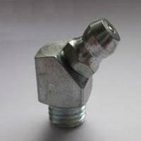 Пресс-масленка угловая 45 градусов М10х1 по ГОСТ 19853-74 (DIN  71412)