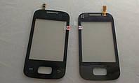 Сенсорное  Стекло  Samsung S5302, S5300, Galaxy Pocket Duos черное original.