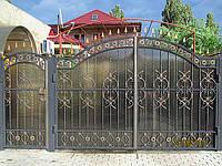 Кованые ворота арт.в 20, фото 1