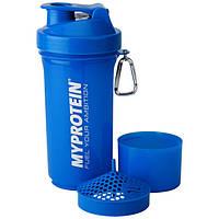Шейкер синий 3 в 1 My Protein SmartShake Slim blue (500 ml)