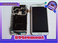 Модуль Samsung i9500 Galaxy S4 белый  в рамке